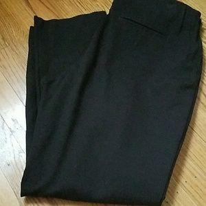 Chico's 14 or 2.5 Black Elastic Waist Dress Pants
